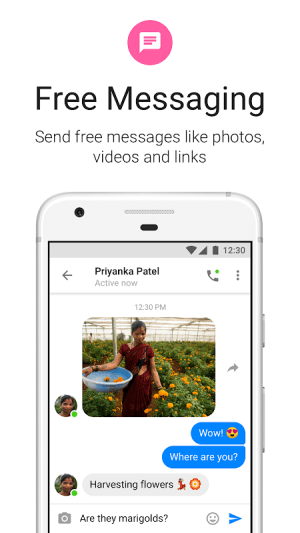 Messenger Lite 100.0.0.2.117 Screen 3