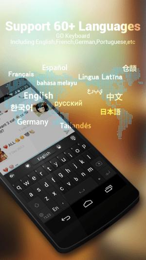 GO Keyboard - Emoji, Emoticons 2.20 Screen 9