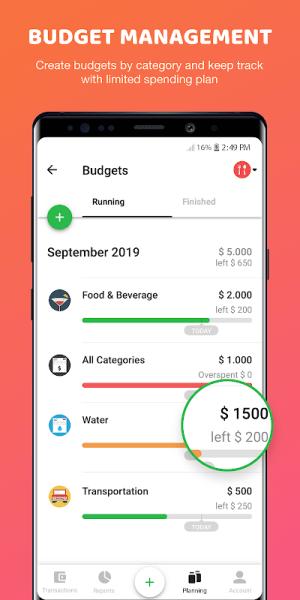 Money Lover 4.0.8.2020021803c Screen 5