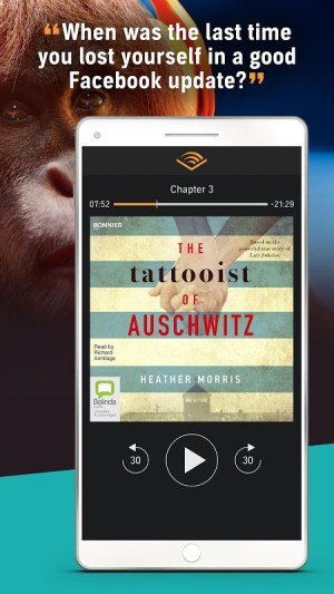 Audiobooks from Audible 2.36.0 Screen 2