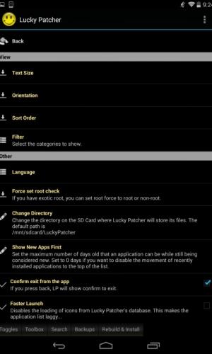 Lucky Patcher 6.4.8 Screen 4