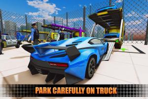 US Police City Car Transport Truck 3D 1.0 Screen 3