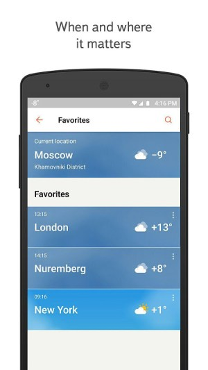 Yandex.Weather 11.26 Screen 7