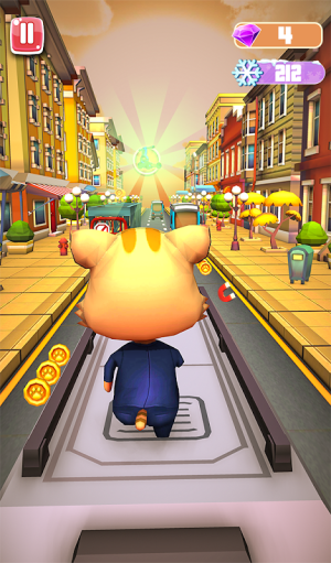 Android Cat and Mouse surf the subway Dash Screen 2