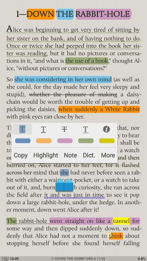 Moon+ Reader 5.2.3 Screen 1
