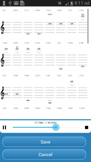 Music Translator (Recognition) 2.0 Screen 2