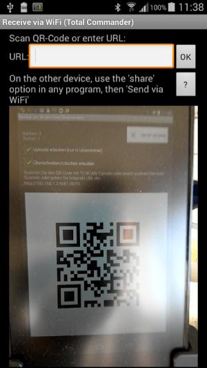 WiFi/WLAN Plugin for Totalcmd 3.2 Screen 3
