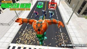 Incredible Monster Superhero Crime City 2018 1.5 Screen 1