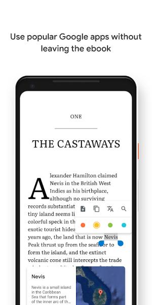 Android Google Play Books - Ebooks, Audiobooks, and Comics Screen 11