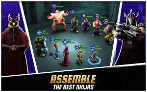 Android Ninja Turtles: Legends Screen 4