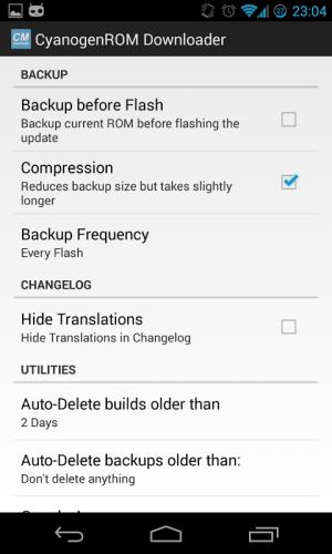 CM Downloader 2.0Beta6 Screen 4
