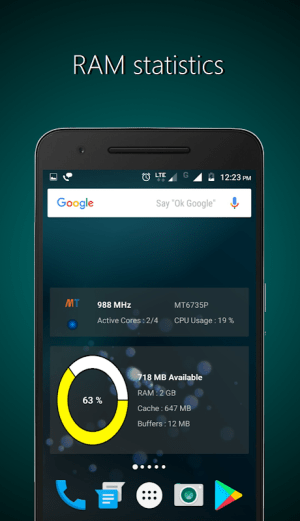 Widgets - CPU | RAM | Battery 3.0.3 Screen 3
