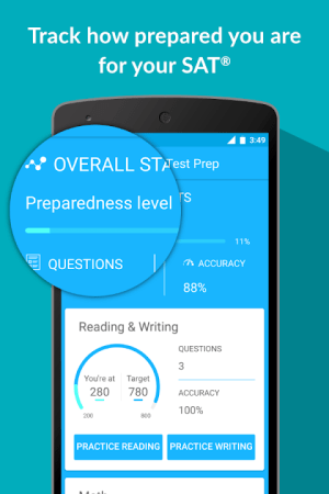Ultimate SAT® Practice Questions by Galvanize 1.4 Screen 1