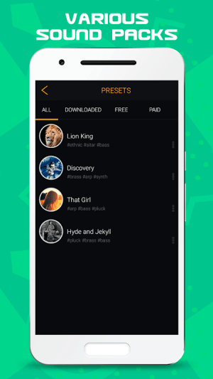 Android Trap Drum Pads Guru Screen 3