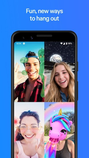 Messenger – Text and Video Chat for Free 325.0.0.0.11 Screen 4