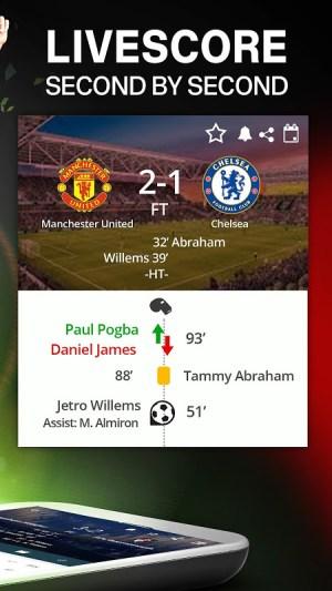 Forza Football - Live Scores & Football Updates 5.1.11 Screen 1