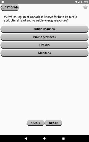 Canadian Citizenship Test 2017 2.02 Screen 6