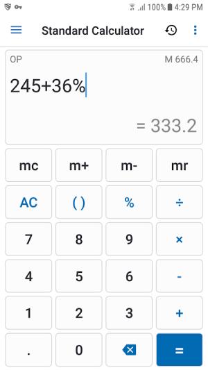 NT Calculator - Extensive Calculator Pro 3.8 Screen 3