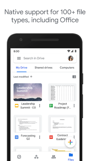 Google Drive 2.21.141.02.30 Screen 2