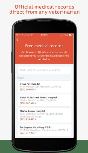 Pawprint: Pet Medical Records 4.3.2 Screen 4