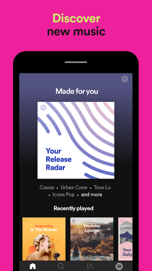 Spotify: Listen To New Music, Podcasts, And Songs 8.5.36.725 Screen 8
