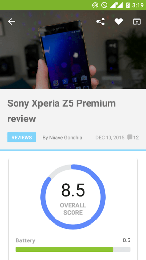 AA App for Android™ 20191016 Screen 3