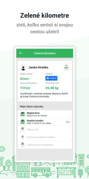 Dopravná karta v mobile 2.9.1 Screen 1