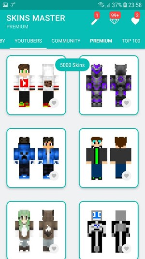 Android Skins MASTER for MINECRAFT (30 000 Skins) + Editor Screen 7