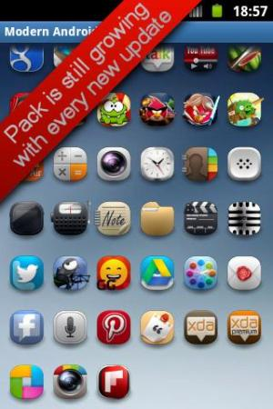 Modern Android Icon Pack 2.0 Screen 5