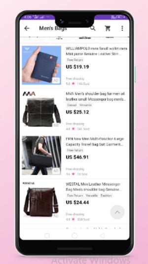 men bags shopping 4.0 Screen 5