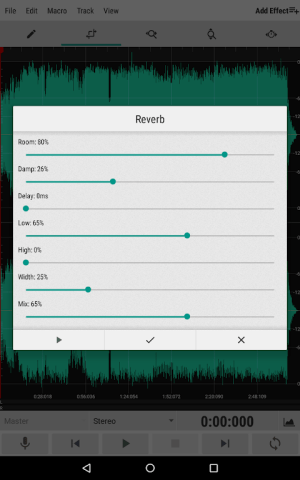WaveEditor for Android™ Audio Recorder & Editor 1.82 Screen 8
