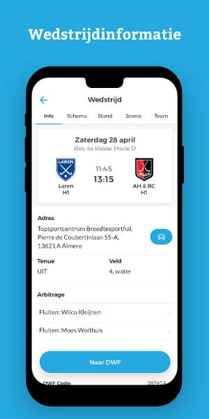 Zandvoortsche Hockey Club 4.9.3 Screen 2