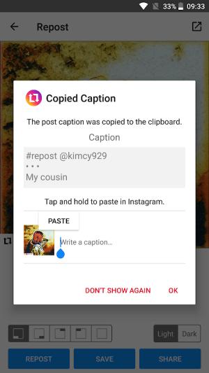 Repost for Instagram - Regram 2.8.7 Screen 2