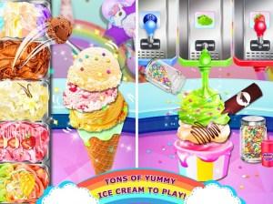 Rainbow Ice Cream - Unicorn Party Food Maker 1.0 Screen 3