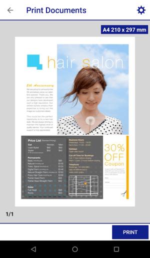 Epson iPrint 7.4.0 Screen 4