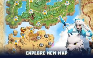 Wild Sky TD: Tower Defence in 3D Fantasy Kingdom 1.31.15 Screen 5