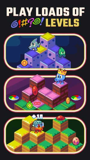 Q*bert 1.3.4 Screen 3