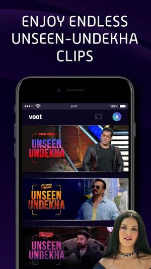 Voot Select Originals, Bigg Boss, MTV, Colors TV 4.0.7 Screen 7