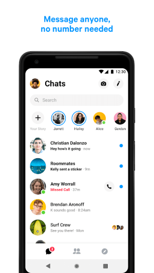 Messenger – Text and Video Chat for Free 221.0.0.0.34 Screen 6