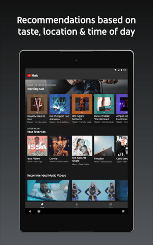 Android YouTube Music - stream music and play videos Screen 8