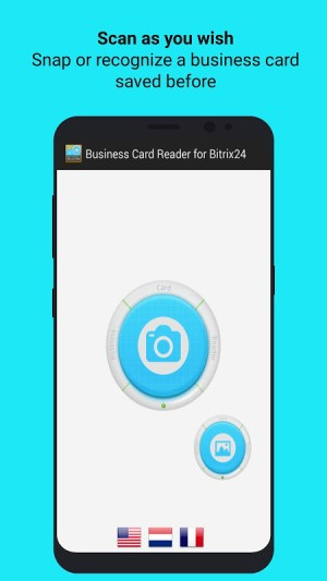 Android Bitrix24 CRM Business Card Reader Screen 3