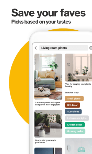 Pinterest 7.43.0 Screen 2