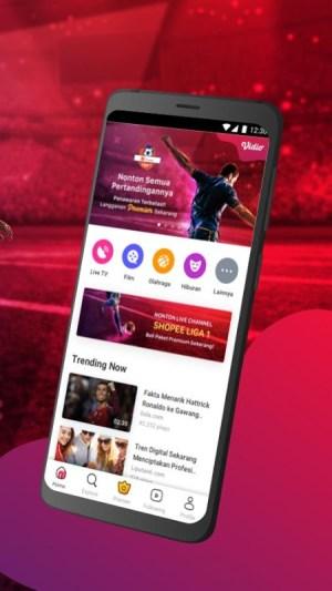 Vidio - Nonton Video, TV & Live Streaming Gratis 4.11.10-c018309 Screen 6