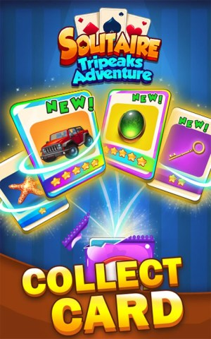 Solitaire Tripeaks Adventure - Free Card Journey 1.2.3 Screen 11
