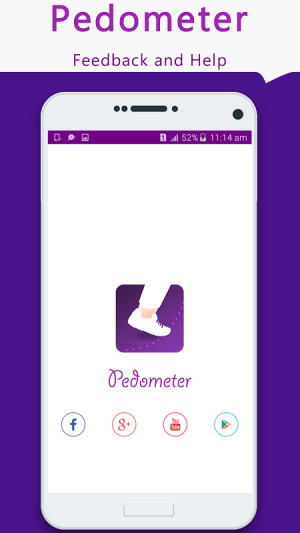 Android Pedometer- Step Counter & Weight Lose Coach Screen 7