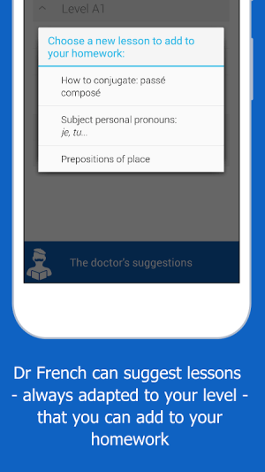 Dr French, French grammar 1.0.10 Screen 19
