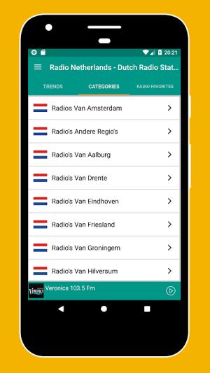 Android Radio Netherlands - Radio Netherlands FM: Radio NL Screen 4