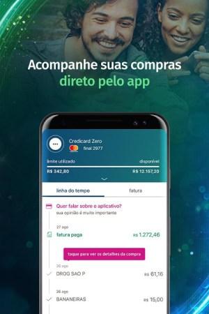 Credicard - app do seu cartão de crédito 5.8.1 Screen 3