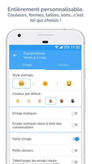 Mood Messenger - SMS & MMS 1.74u Screen 5