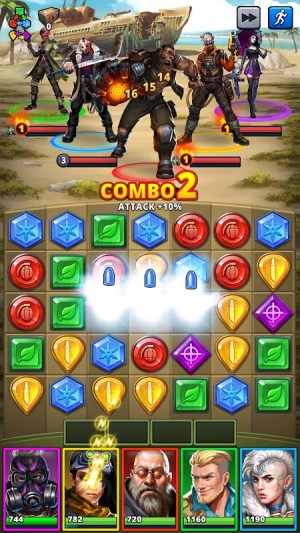 Puzzle Combat: Match-3 RPG 31.0.1 Screen 20